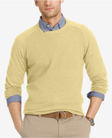 Izod Men's Waffle-Knit Crew-Neck Sweater
