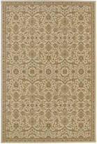"D Style Beacon BEA1335 Ivory 5'3"" x 7'7"" Area Rug"