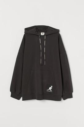 H&M Oversized Hoodie - Gray