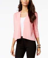 Alfani Sheer-Inset Cardigan, Created for Macy's