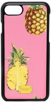 Dolce & Gabbana Pineapples Leather Iphone 7 Case
