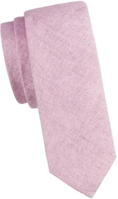 Burberry Stanfield Linen Tie