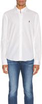 Polo Ralph Lauren GD Chino Long Sleeve Button Up Shirt in White   FWRD