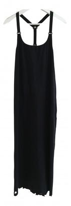 Marithé + François Girbaud Marithe & Francois Black Polyester Dresses