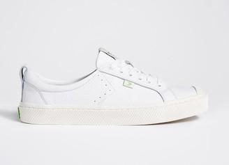 Cariuma OCA Low White Premium Leather Sneaker Women