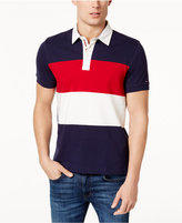 Tommy Hilfiger Men's Custom-Fit Colorblocked Polo