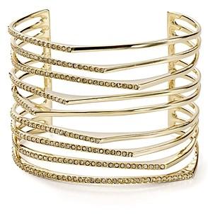 Alexis Bittar Golden Sharp Cuff