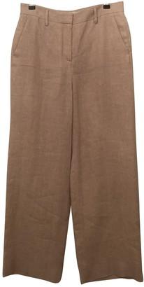 Mansur Gavriel Pink Cloth Trousers for Women