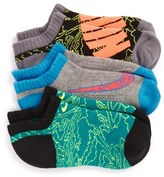 Nike Boy's Performance 3-Pack No-Show Socks