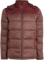 Calvin Klein Ogent Hd Padded Mixed Media Jacket
