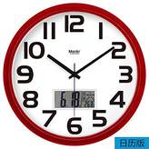 BABYQUEEN Fashion Creative Simple Number Wall Clock Living Room Bedroom Mute Fashion Creative Art Clock