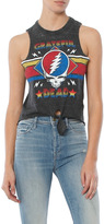 Chaser Grateful Dead Triblend Tie Front Muscle Tee