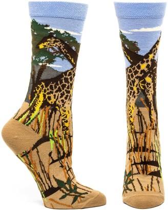 Ozone Womens Giraffe Sock