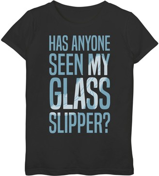 Disney Girls 7-16 Disney's Cinderella Missing Slipper Graphic Tee