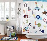 Pottery Barn Kids ABC Shower Curtain