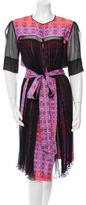 Sophie Theallet Printed Layered Dress w/ Tags