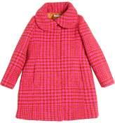 Wool & Alpaca Blend Felt Coat