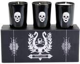 D.L. & Co. Eros Skull Votives (2.75 OZ) (Set of 3)