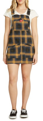 Dickies Plaid Pinafore Dress