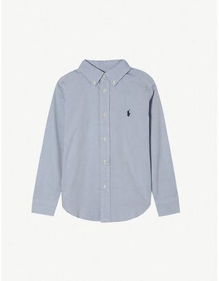 Ralph Lauren Custom fit long-sleeve shirt 8-16 years, Size: 8 years, White