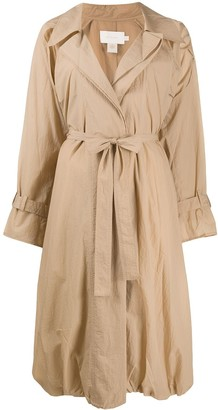 Low Classic Lightweight Belted Trench Coat
