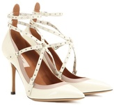 Valentino Love Latch Patent Leather Pumps