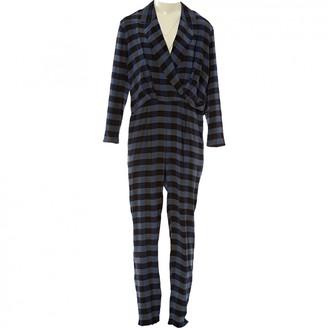 Thakoon Blue Silk Jumpsuit for Women