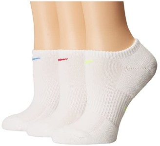 Nike Performance Cushioned Mesh No Show Training Socks 3-Pair Pack (Multicolor) Women's No Show Socks Shoes