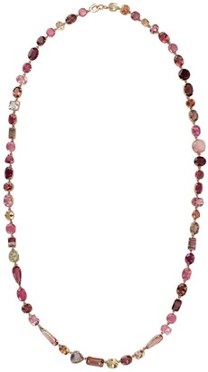 Irene Neuwirth 18kt rose gold Gemmy Gem touramline beaded necklace