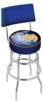 "NCAA 30"" Swivel Bar Stool Holland Bar Stool Team: Notre Dame - ""ND"""