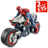 Spiderman Ultimate Blast 'N' Go Racers