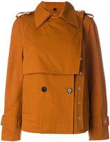 Proenza Schouler Short trench coat - women - Cotton/Polyester/Viscose - 4