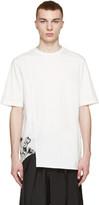 3.1 Phillip Lim White Ginkgo Print T-Shirt