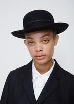 Comme des Garcons Navy Short Brim Bowler Hat