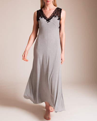Paladini Couture Rigatino Barbara Long Gown
