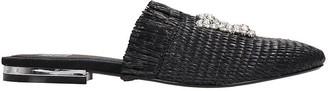 Bibi Lou Loafers In Black Canvas