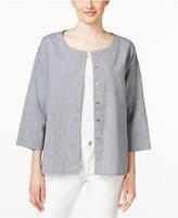 Eileen Fisher Chambray Shirt