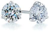 Kwiat Women's 1.25Ct Tw Diamond & Platinum Stud Earrings