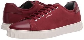 Salvatore Ferragamo Cube Sneaker (Borgogna) Men's Shoes