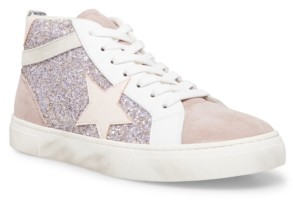 STEVEN NEW YORK Women's Redding Lace-Up High-Top Sneakers