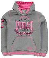Everlast Kids Large Logo Girls Hoody OTH Hoodie Long Sleeve Hooded Casual Top