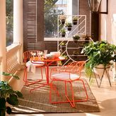 west elm Soleil Metal Outdoor Bistro Dining Set - Table + 2 Chairs