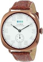 La Mer Women's LMOVW2030 Brown Copper Oversized Vintage Watch