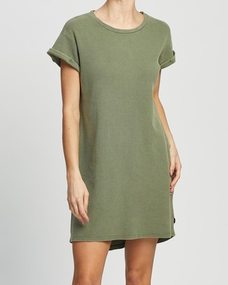 Silent Theory Women's Mini Dresses - Waffle Tee Dress - Size One Size, 8 at The Iconic