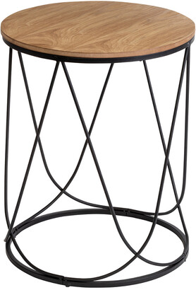Honey-Can-Do Round Side Table Stool