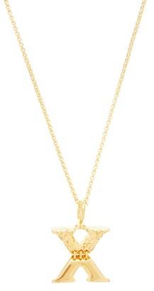 Chloé X-pendant Necklace - Gold