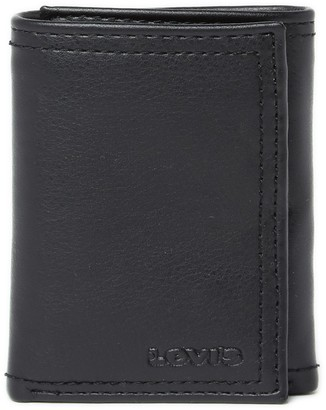 Levi's RFID Leather Tri-Fold Wallet