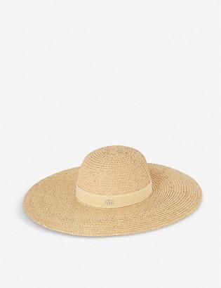 Maison Michel Blanche Capeline straw hat
