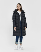 Canada Goose Women's Arosa Quilted Down Parka Jacket in Black, Size Extra Small   Fleece