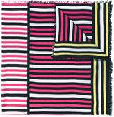Faliero Sarti multistripe scarf - women - Silk/Modal - One Size